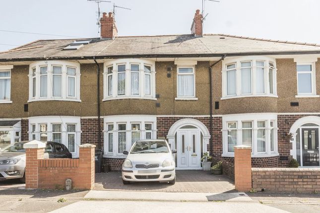 Thumbnail Terraced house for sale in Manor Way, Heath, Cardiff