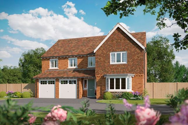 Thumbnail Detached house for sale in Tidbury Heights, Fulford Hall Road, Tidbury Green, Solihull