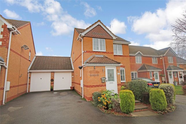 Thumbnail Detached house for sale in Darien Way, Thorpe Astley, Braunstone, Leicester