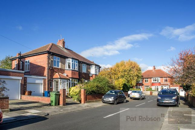 Thumbnail Semi-detached house to rent in Sturdee Gardens, High West Jesmond, Newcastle Upon Tyne