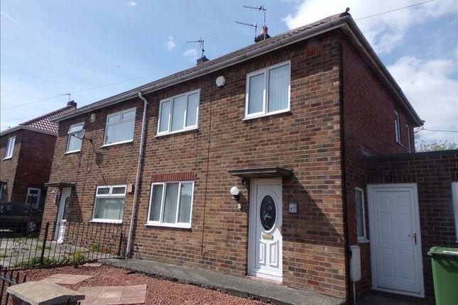 Thumbnail Semi-detached house to rent in Wood Lane, Bedlington