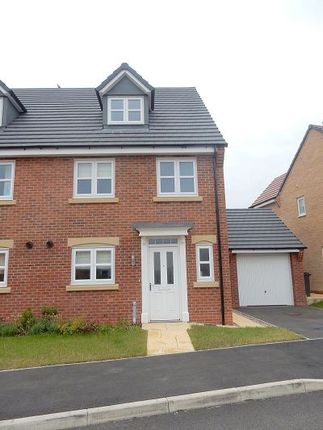 Thumbnail Semi-detached house to rent in Ivy Close, Great Glen, Leicester