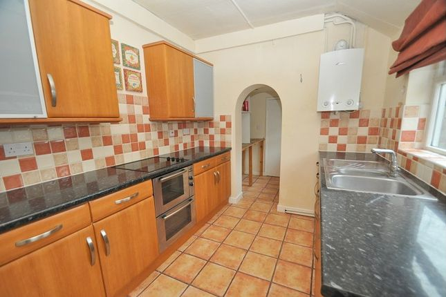 Thumbnail End terrace house to rent in Broad Street, West Brampton, Newcastle Under Lyme