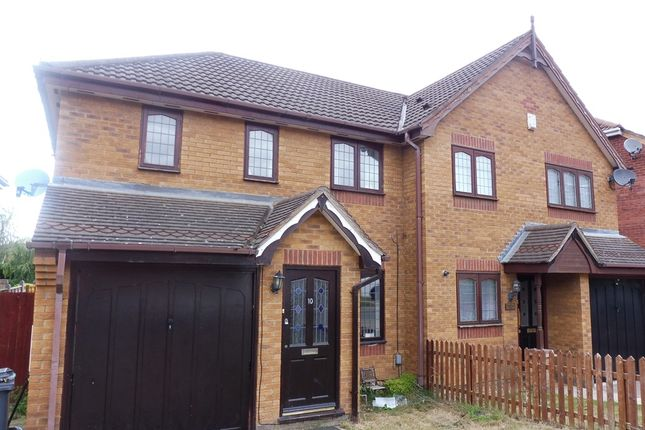 3 bed semi-detached house for sale in Highdown Close, Northampton