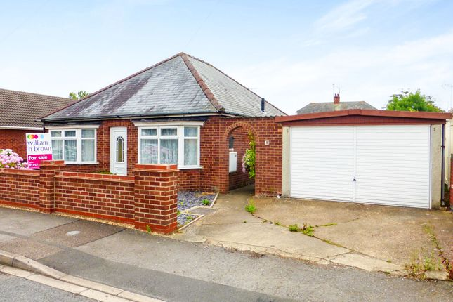 Thumbnail Detached bungalow for sale in Hillside Road, March