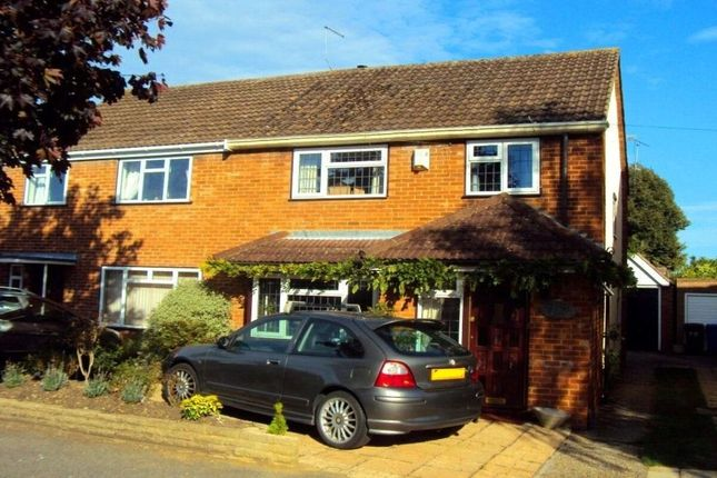 Thumbnail Semi-detached house to rent in Meadow Way, Old Windsor, Windsor