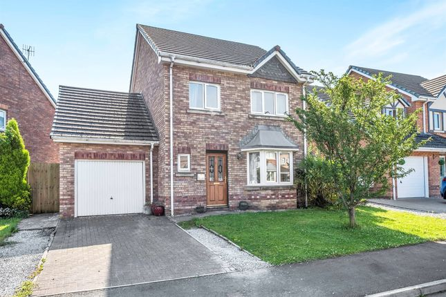 Thumbnail Detached house for sale in The Meadows, Skewen, Neath