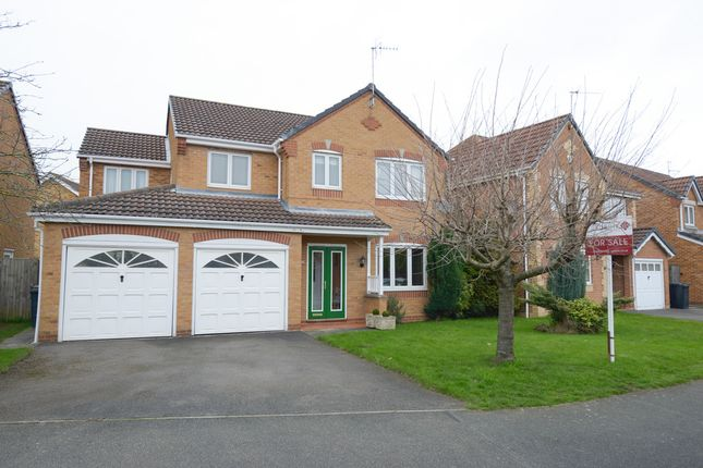Thumbnail Detached house for sale in Holme Park Avenue, Chesterfield