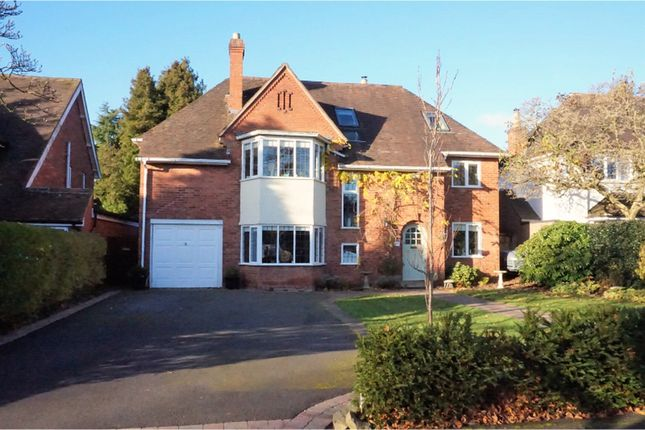 Thumbnail Detached house for sale in Brueton Avenue, Solihull