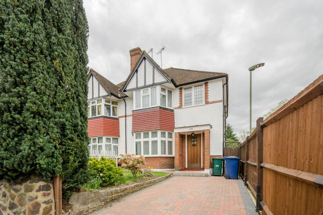 Thumbnail Semi-detached house for sale in Nether Street, Finchley Central