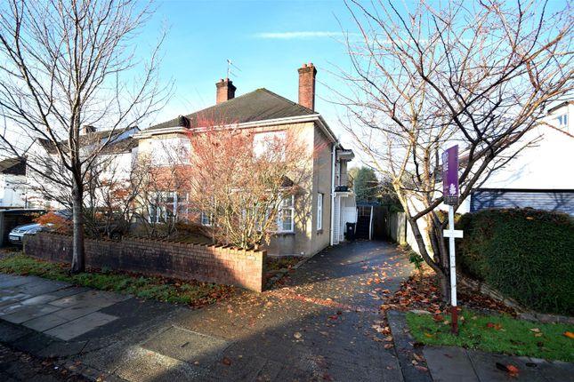 Thumbnail Flat for sale in Reedley Road, Stoke Bishop, Bristol