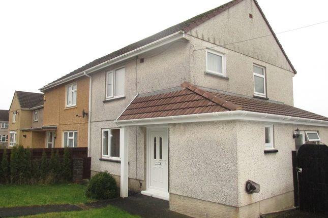 Thumbnail Semi-detached house for sale in Rhosnewydd, Tumble, Llanelli