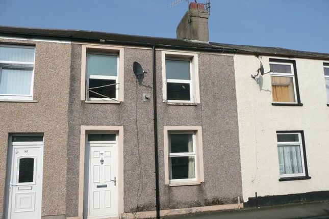 Thumbnail Terraced house for sale in Wellington Street, Millom