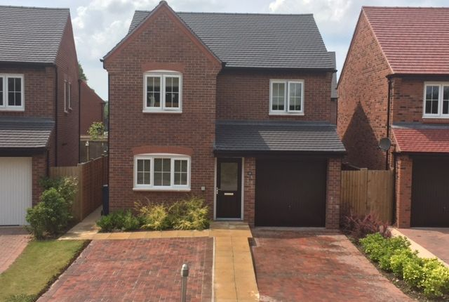 Thumbnail Detached house for sale in Worthington Grove, Yarnfield, Stone