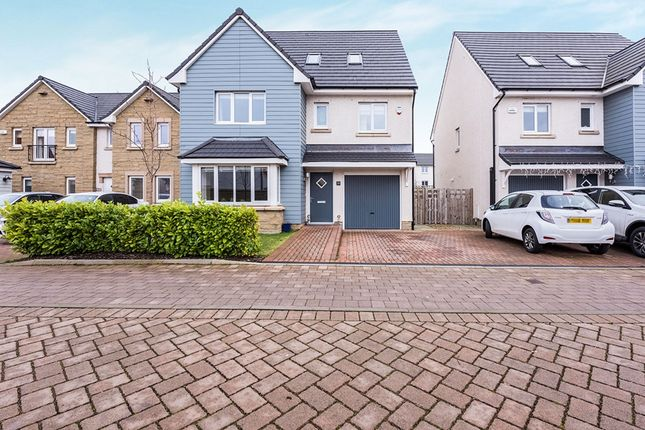 Thumbnail Detached house for sale in Badger Walk, East Calder, Livingston, West Lothian