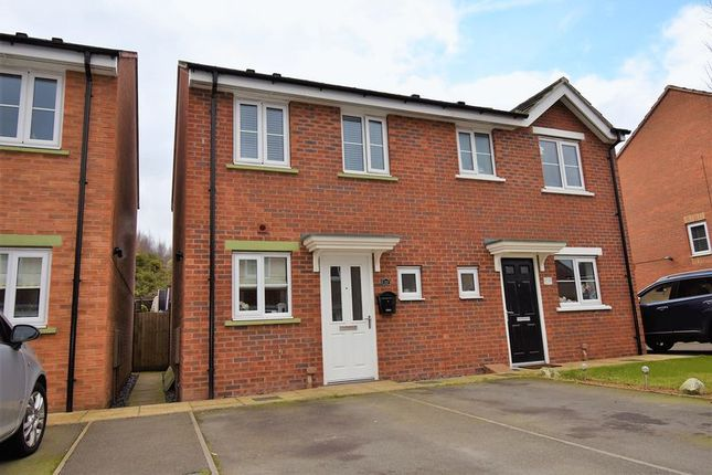 Thumbnail Semi-detached house for sale in Cloisters Way, St. Georges, Telford