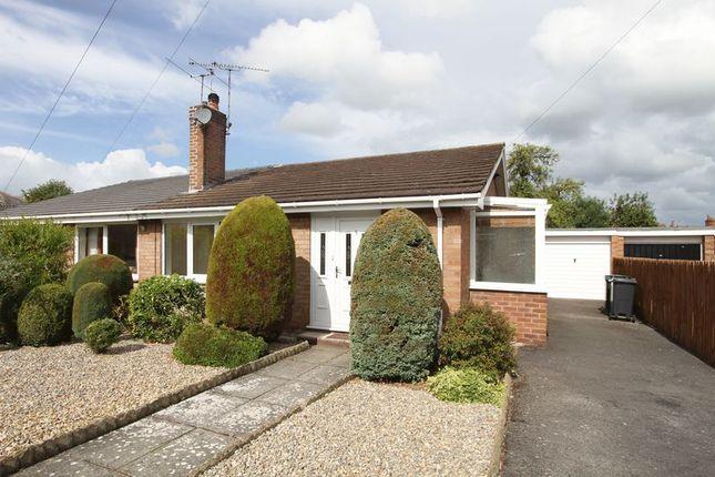 Thumbnail Semi-detached bungalow to rent in Fraser Court, Handbridge, Chester
