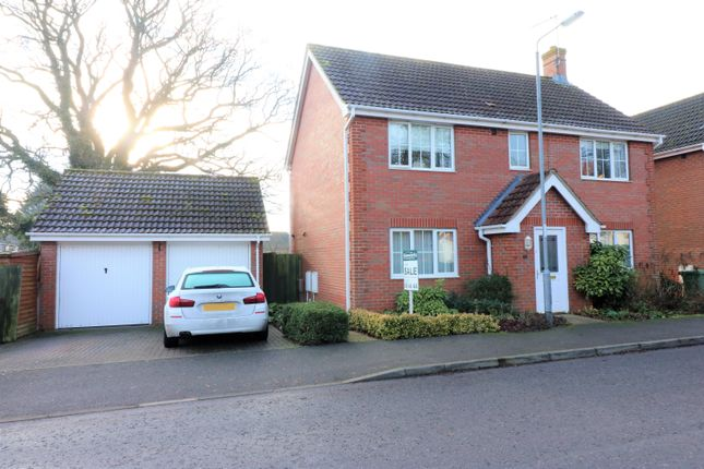 Thumbnail Detached house for sale in Wordsworth Drive, Dereham