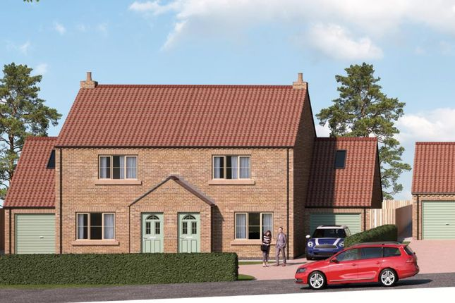Thumbnail Semi-detached house for sale in Elm Cottage, Field View, Copt Hewick, Ripon