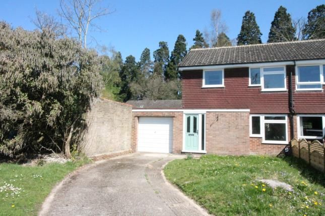 Thumbnail Semi-detached house for sale in Camberley, Surrey