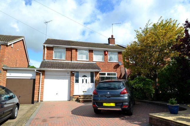 Thumbnail Semi-detached house to rent in Hinton Road, Northampton