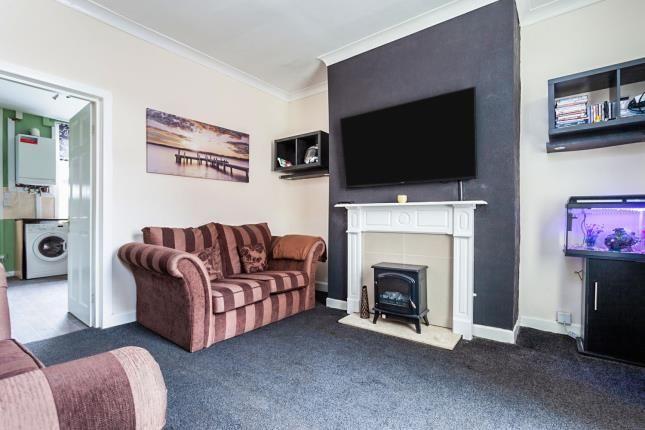 Lounge of St. Georges Avenue, Blackburn, Lancashire, . BB2
