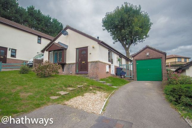 Thumbnail Detached bungalow for sale in Beechleigh Close, Greenmeadow, Cwmbran