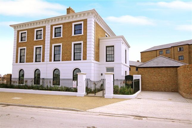 Thumbnail Semi-detached house for sale in Pavilion Green East, Poundbury, Dorchester, Dorset