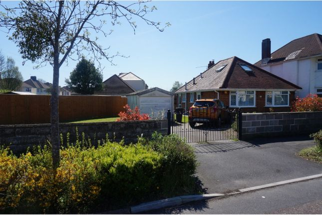 Thumbnail Bungalow for sale in Saxonhurst Road, Bournemouth