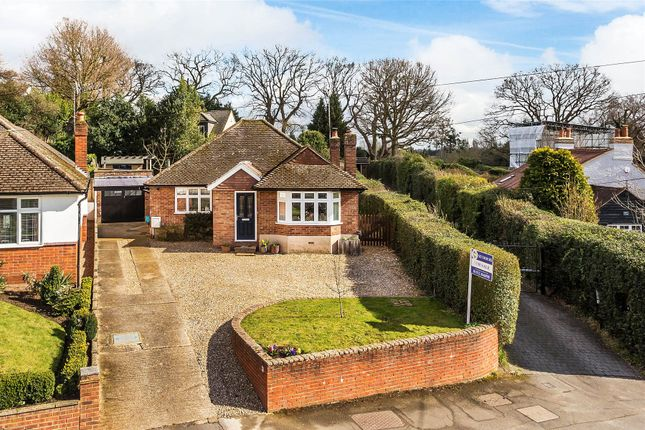 Thumbnail Detached bungalow for sale in Rowtown, Surrey
