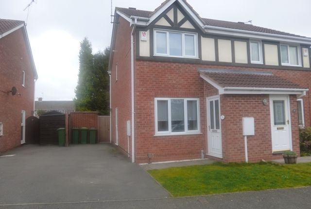 Thumbnail Semi-detached house for sale in Sword Close, Glenfield, England