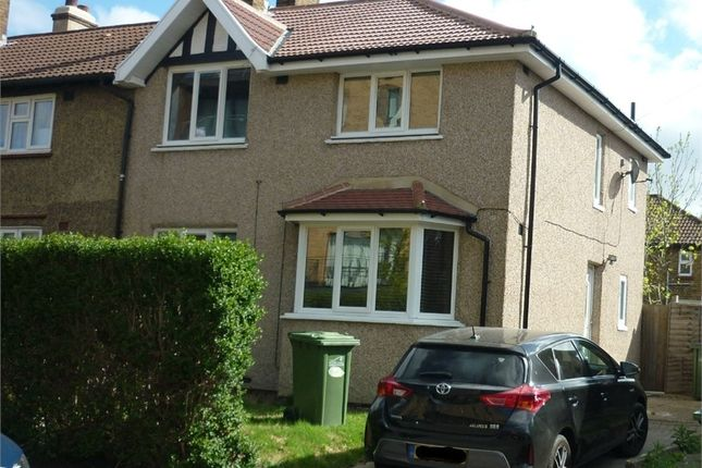 Thumbnail End terrace house to rent in Meadowside, London
