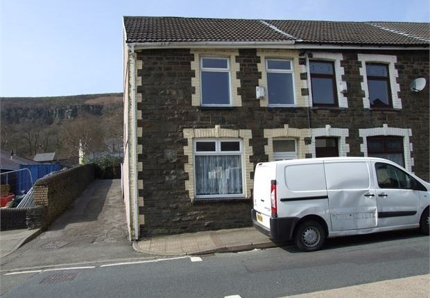 Thumbnail End terrace house for sale in North Road, Ferndale, Rct.
