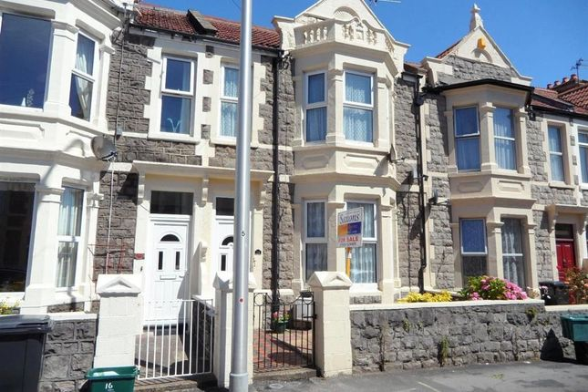 Thumbnail Flat to rent in Brighton Road, Weston-Super-Mare