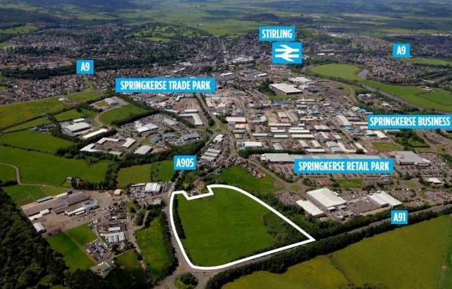 Thumbnail Commercial property for sale in Crookbridge, Kerse Road, Stirling