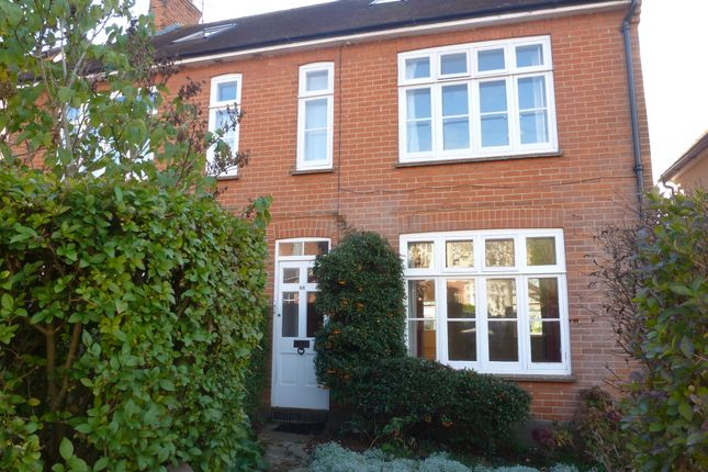 Thumbnail Semi-detached house to rent in Weydon Hill Road, Farnham