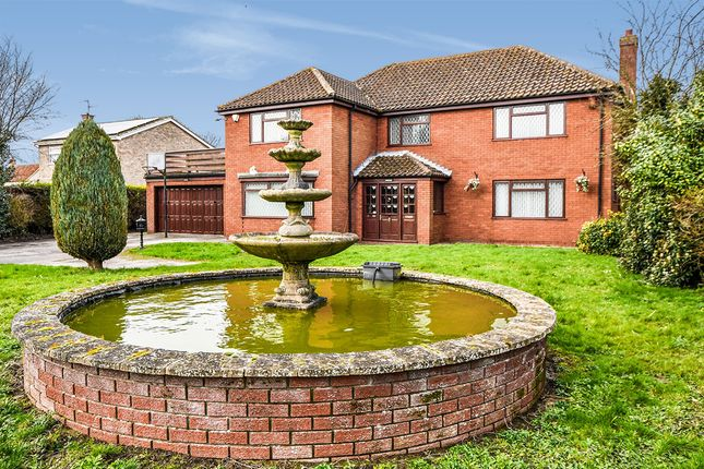 Thumbnail Detached house for sale in Louth Road, Wragby, Market Rasen, Lincolnshire