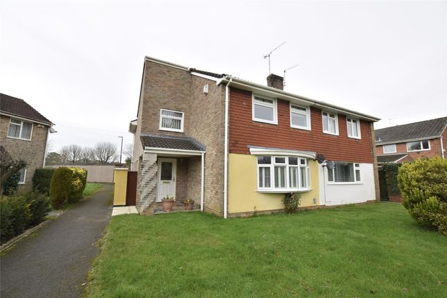 Thumbnail Semi-detached house for sale in Brookfield Walk, Oldland Common, Bristol