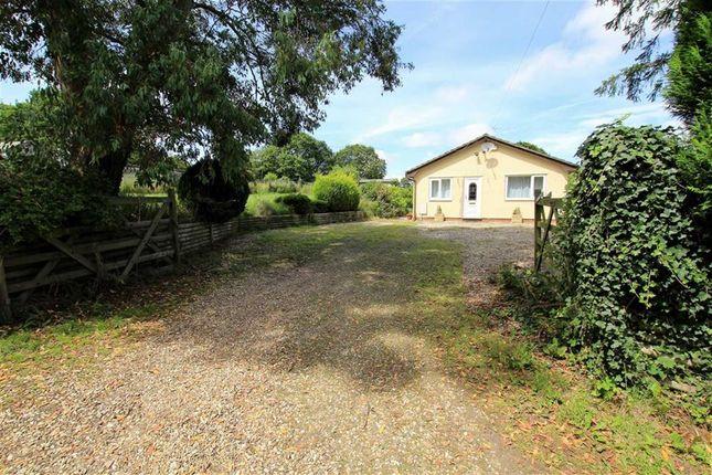 Thumbnail Detached bungalow for sale in Coleshill Fechan, Bagillt, Flintshire
