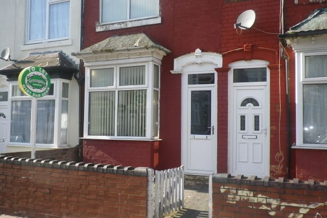 Thumbnail Terraced house to rent in Paddington Road, Handsworth