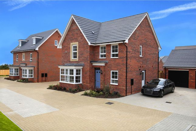 "Thumbnail Detached house for sale in ""Cambridge"" at Carters Lane, Kiln Farm, Milton Keynes"