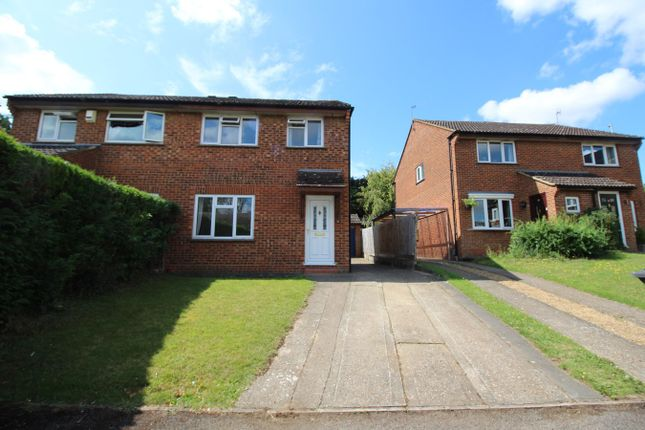 Thumbnail Semi-detached house to rent in Browning Drive, Hitchin
