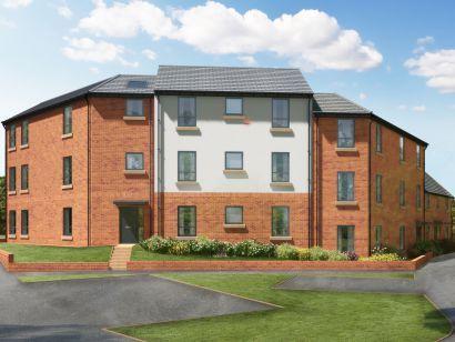 Thumbnail Flat for sale in Meldon Fields, Hameldown Road, Okehampton, Devon