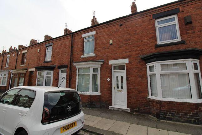 Thumbnail Terraced house to rent in Aysgarth Road, Darlington