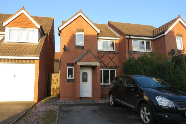 Thumbnail Semi-detached house to rent in Seacole Close, Thorpe Astley, Leicester