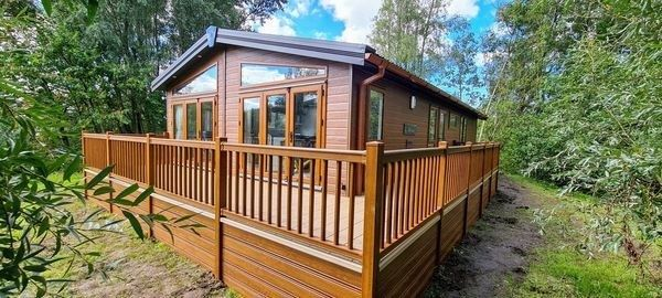 Thumbnail Lodge for sale in Borwick Lane, Dock Acres, Carnforth