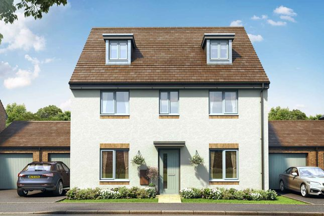 Thumbnail Detached house for sale in Aston Reach, Weston Turville, Aylesbury