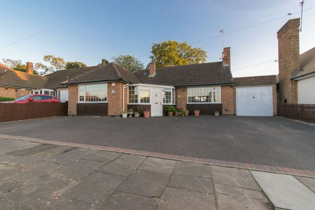 Thumbnail Detached bungalow for sale in Oakside Crescent, Leicester