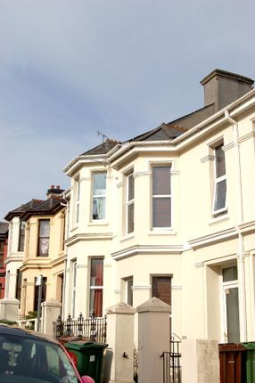 Thumbnail Town house to rent in Furzehill Road, Mutley, Plymouth