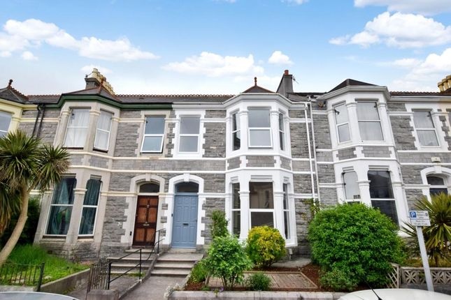 Thumbnail Terraced house for sale in Carlton Terrace, Lipson, Plymouth, Devon